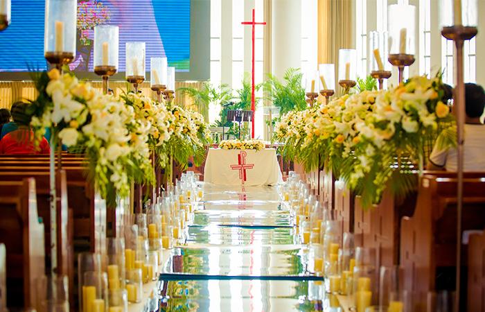 南京教堂婚礼案例一
