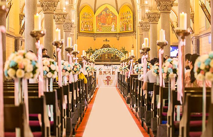 南京教堂婚礼案例三