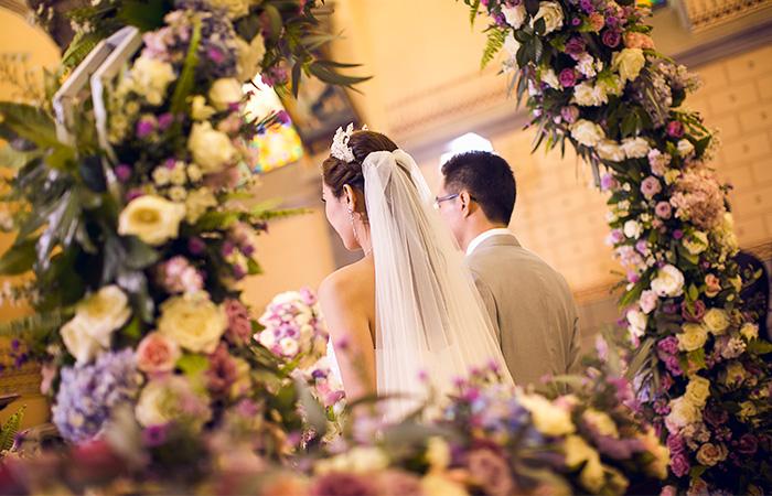 南京教堂婚礼案例四