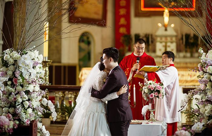 南京教堂婚礼案例六