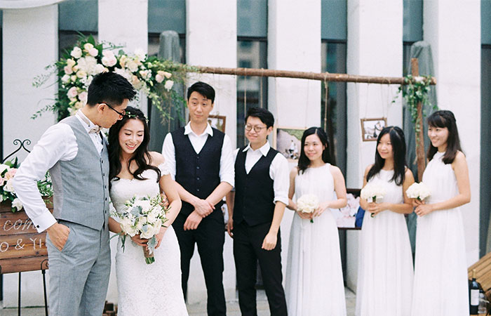 南京教堂婚礼案例七