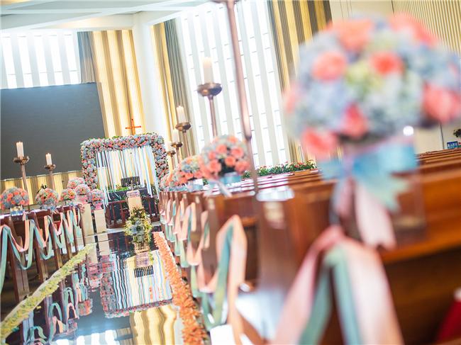 南京教堂婚礼—Spring breeze