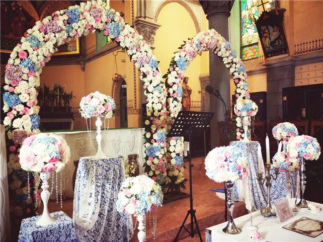 南京教堂婚礼-For love